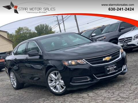 2018 Chevrolet Impala for sale at Star Motor Sales in Downers Grove IL
