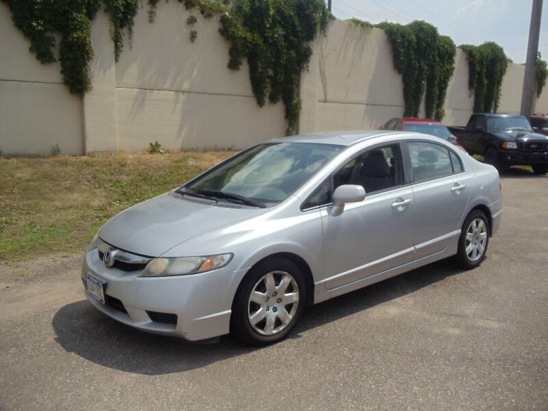2009 Honda Civic for sale at Metro Motor Sales in Minneapolis MN