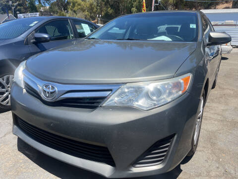 2014 Toyota Camry for sale at Brand Motors llc in Hayward CA