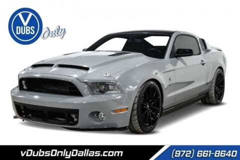 2010 Ford Shelby GT500 for sale at VDUBS ONLY in Dallas TX