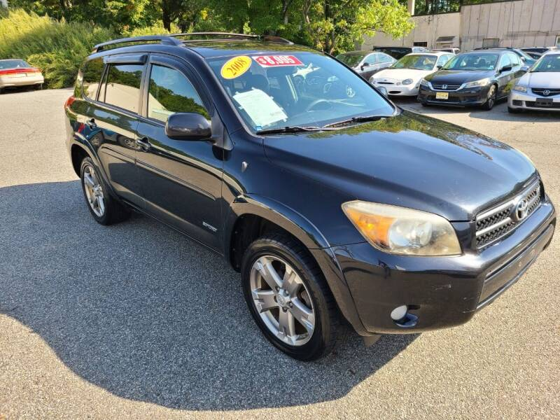 2008 Toyota RAV4 for sale at New Jersey Automobiles and Trucks in Lake Hopatcong NJ