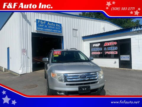 2010 Ford Edge for sale at F&F Auto Inc. in West Bridgewater MA