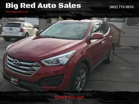 2015 Hyundai Santa Fe Sport for sale at Big Red Auto Sales in Papillion NE