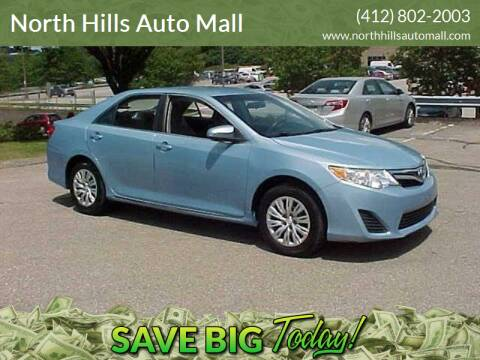 2012 Toyota Camry for sale at North Hills Auto Mall in Pittsburgh PA