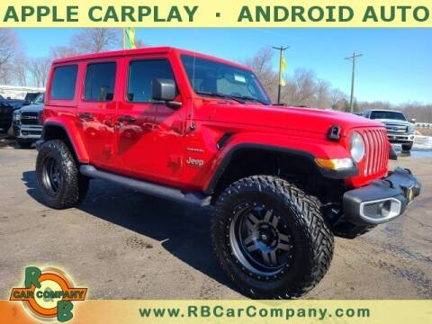 2020 Jeep Wrangler Unlimited for sale at R & B CAR CO - R&B CAR COMPANY in Columbia City IN