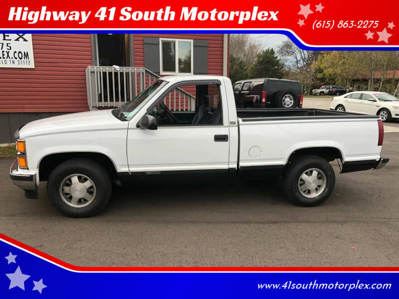1997 Chevrolet C/K 1500 Series for sale at Highway 41 South Motorplex in Springfield TN