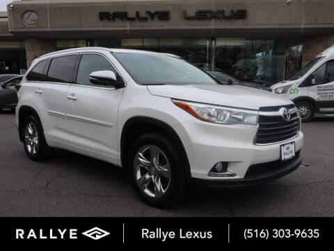 2015 Toyota Highlander for sale at RALLYE LEXUS in Glen Cove NY