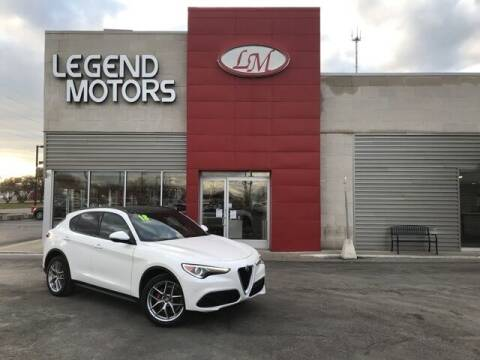 2018 Alfa Romeo Stelvio for sale at Legend Motors of Detroit - Legend Motors of Ferndale in Ferndale MI