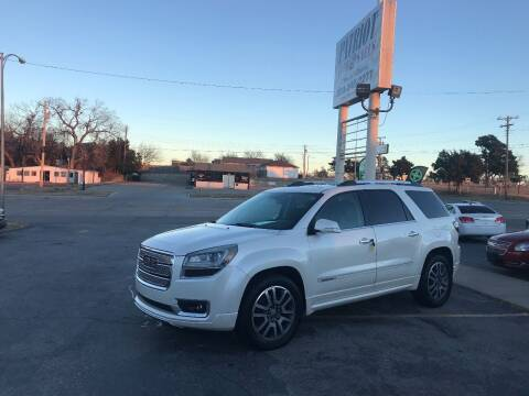 2013 GMC Acadia for sale at Patriot Auto Sales in Lawton OK