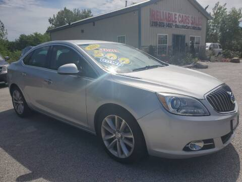 2014 Buick Verano for sale at Reliable Cars Sales in Michigan City IN