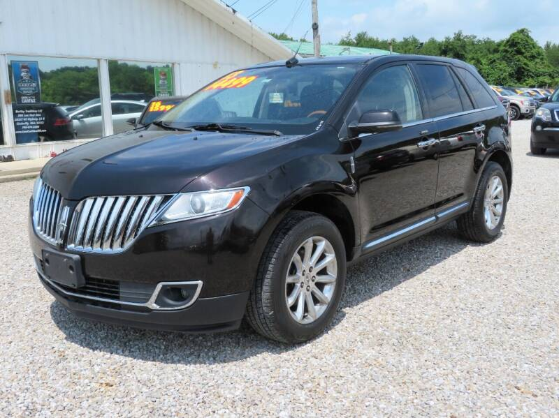 2013 Lincoln MKX for sale at Low Cost Cars in Circleville OH