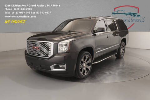 2015 GMC Yukon XL for sale at Elvis Auto Sales LLC in Grand Rapids MI