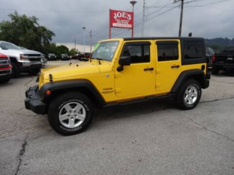 2015 Jeep Wrangler Unlimited for sale at Joe's Preowned Autos in Moundsville WV