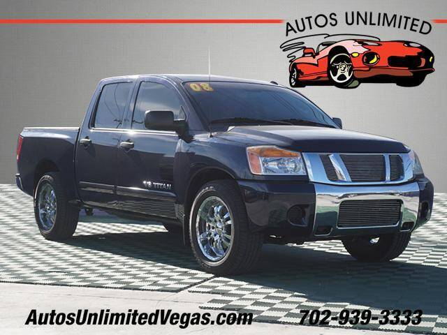 2008 Nissan Titan for sale at Autos Unlimited in Las Vegas NV
