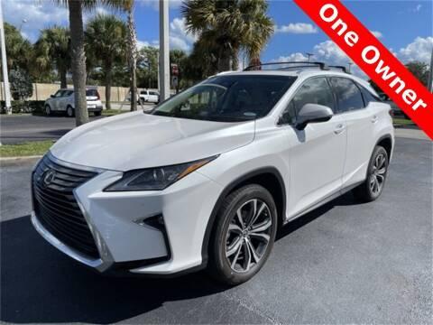2018 Lexus RX 350 for sale at PHIL SMITH AUTOMOTIVE GROUP - Toyota Kia of Vero Beach in Vero Beach FL