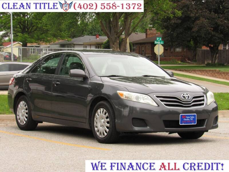 2010 Toyota Camry for sale at NY AUTO SALES in Omaha NE
