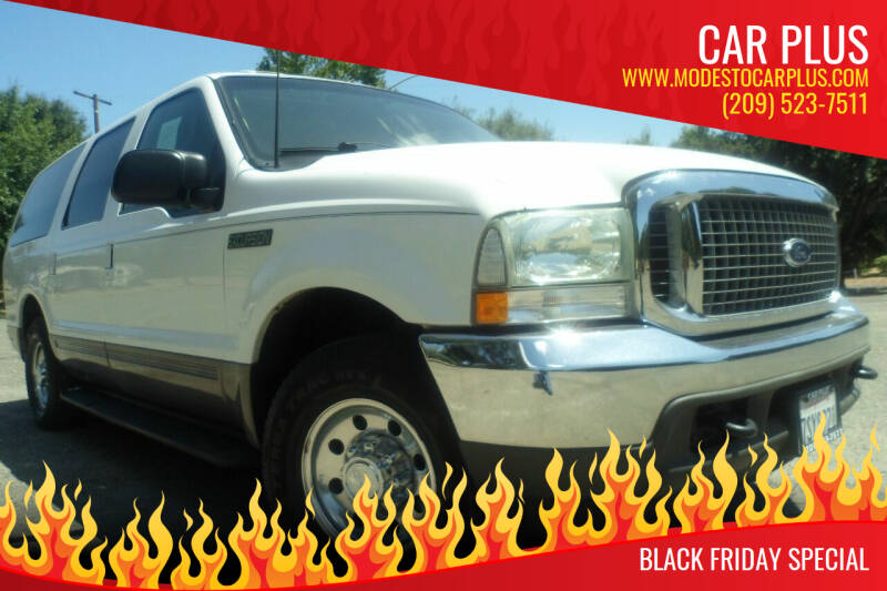 2002 Ford Excursion for sale at CAR PLUS in Modesto CA