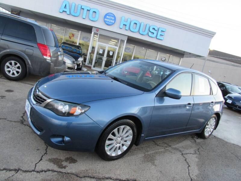 2008 Subaru Impreza for sale at Auto House Motors in Downers Grove IL