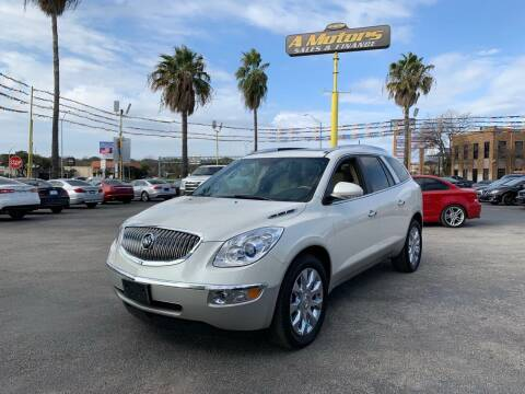 2012 Buick Enclave for sale at A MOTORS SALES AND FINANCE in San Antonio TX