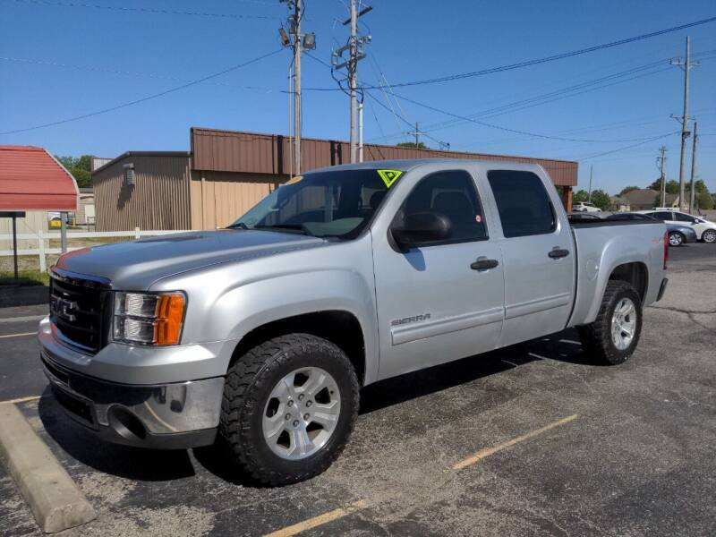 2010 GMC Sierra 1500 for sale at Towell & Sons Auto Sales in Manila AR