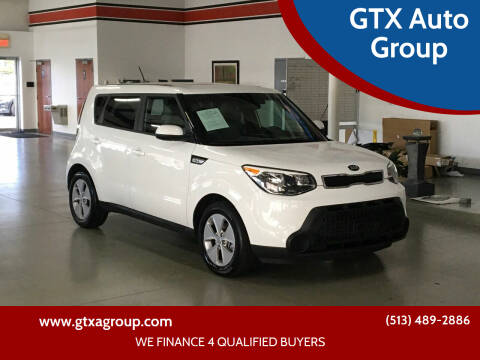 2016 Kia Soul for sale at GTX Auto Group in West Chester OH