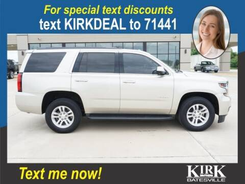 2015 Chevrolet Tahoe for sale at Kirk Brothers Batesville in Batesville MS