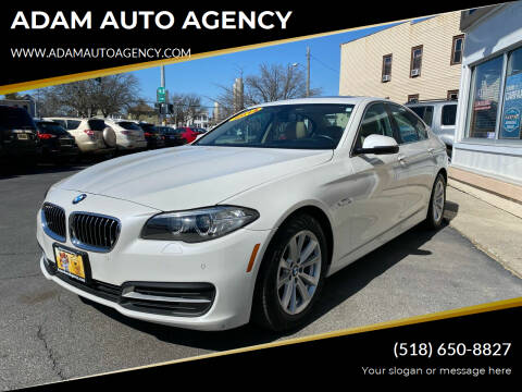 2014 BMW 5 Series for sale at ADAM AUTO AGENCY in Rensselaer NY