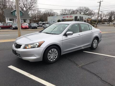 2010 Honda Accord for sale at Best Buy Automotive in Attleboro MA