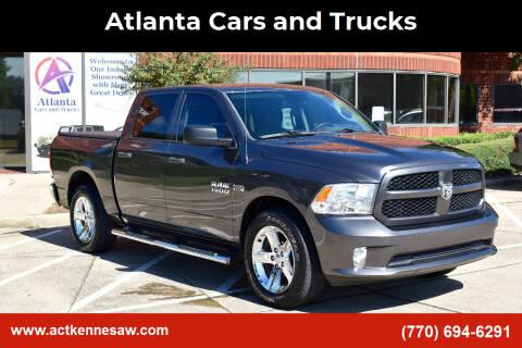 2015 RAM Ram Pickup 1500 for sale at Atlanta Cars and Trucks in Kennesaw GA