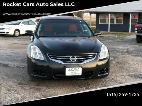 2012 Nissan Altima for sale at Rocket Cars Auto Sales LLC in Des Moines IA