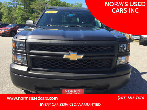 2014 Chevrolet Silverado 1500 for sale at NORM'S USED CARS INC in Wiscasset ME