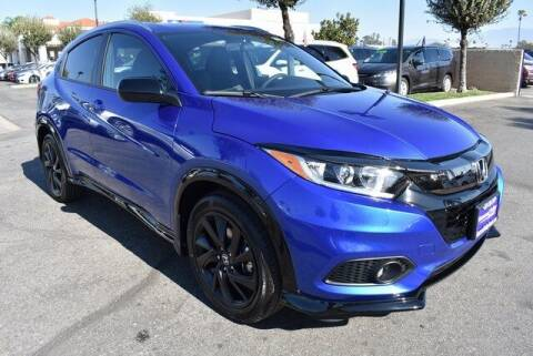 2021 Honda HR-V for sale at DIAMOND VALLEY HONDA in Hemet CA