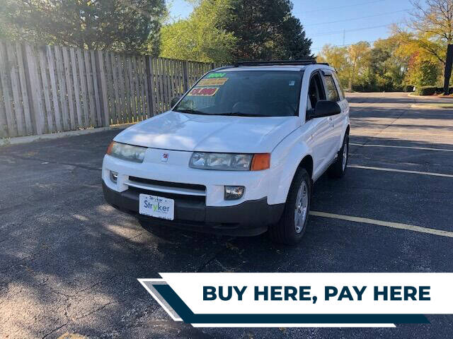 2004 Saturn Vue for sale at Stryker Auto Sales in South Elgin IL