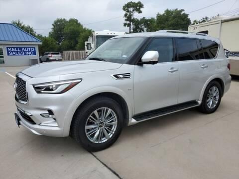 2019 Infiniti QX80 for sale at Kell Auto Sales, Inc in Wichita Falls TX