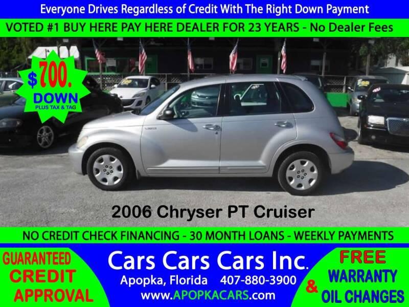 2006 Chrysler PT Cruiser for sale at CARS CARS CARS INC in Apopka FL