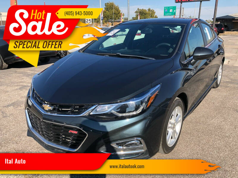 2018 Chevrolet Cruze for sale at Ital Auto in Oklahoma City OK