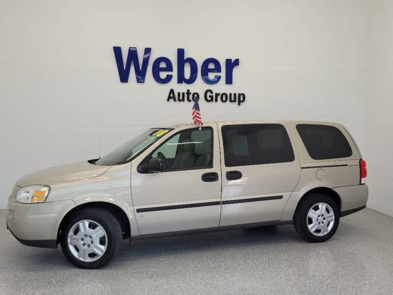 2008 Chevrolet Uplander for sale in Silvis, IL