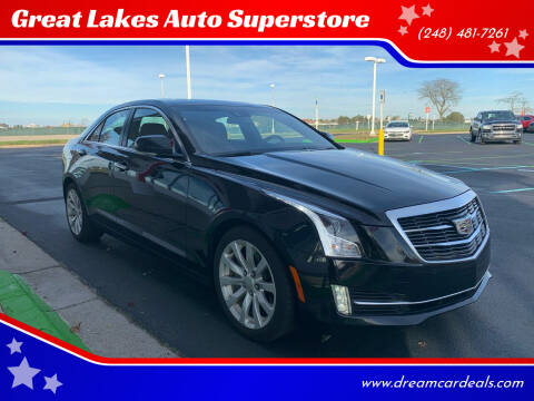 2017 Cadillac ATS for sale at Great Lakes Auto Superstore in Pontiac MI