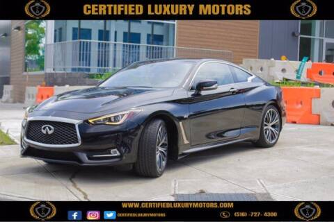 2018 Infiniti Q60 for sale at CERTIFIED LUXURY MOTORS OF QUEENS in Elmhurst NY