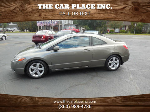 2007 Honda Civic for sale at THE CAR PLACE INC. in Somersville CT