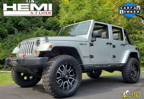 2007 Jeep Wrangler Unlimited for sale at The Motor Collection in Columbus OH