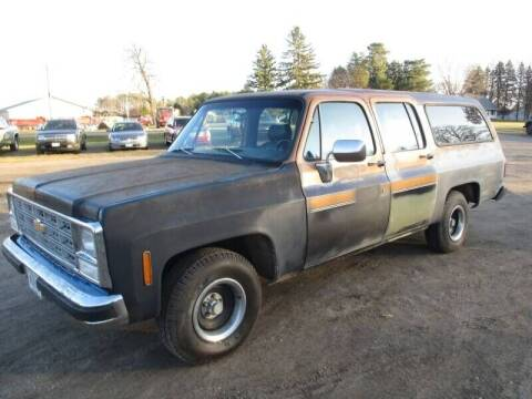 1980 Chevrolet Suburban for sale at D & T AUTO INC in Columbus MN