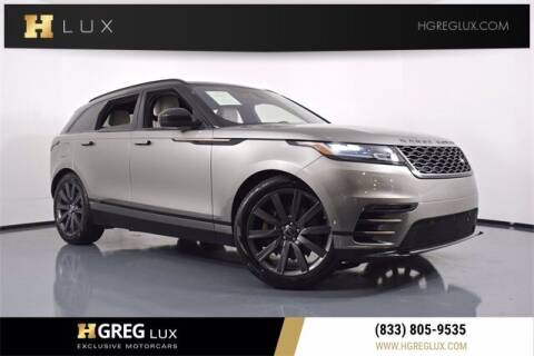 2018 Land Rover Range Rover Velar for sale at HGREG LUX EXCLUSIVE MOTORCARS in Pompano Beach FL
