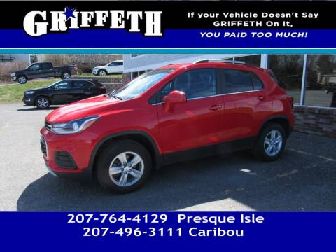 2018 Chevrolet Trax for sale at Griffeth Mitsubishi - Pre-owned in Caribou ME