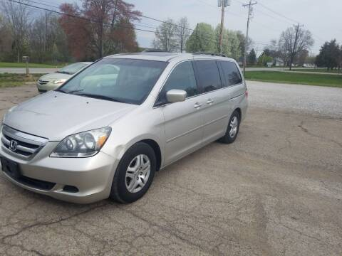 2007 Honda Odyssey for sale at David Shiveley in Mount Orab OH