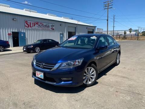 2013 Honda Accord for sale at SUPER AUTO SALES STOCKTON in Stockton CA