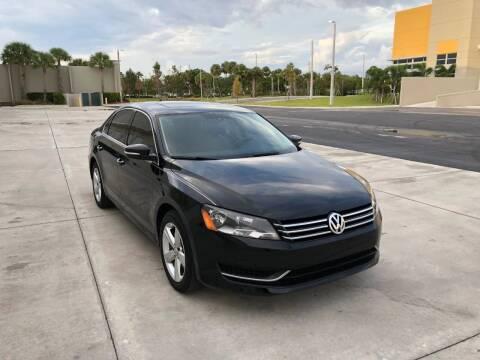 2013 Volkswagen Passat for sale at EUROPEAN AUTO ALLIANCE LLC in Coral Springs FL