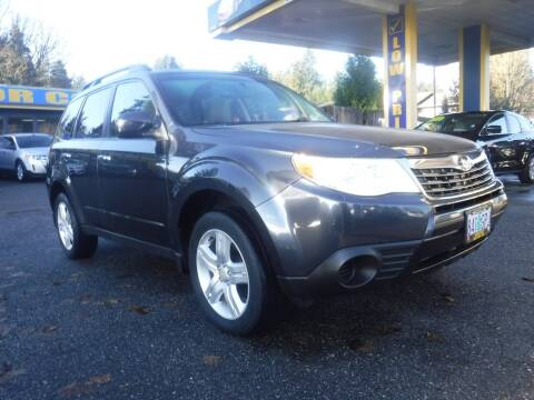 2010 Subaru Forester for sale at Brooks Motor Company, Inc in Milwaukie OR