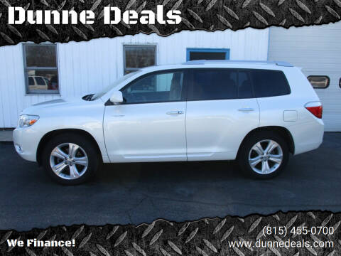 2008 Toyota Highlander for sale at Dunne Deals in Crystal Lake IL
