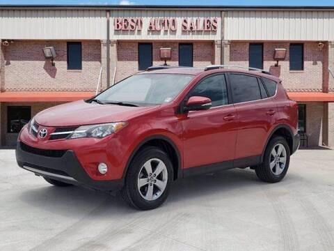 2015 Toyota RAV4 for sale at Best Auto Sales LLC in Auburn AL